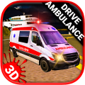 Emergency ambulance Drive: Save patients Icon