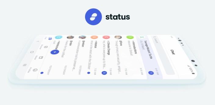 Status: Crypto Wallet, Messenger, Ethereum Browser apk