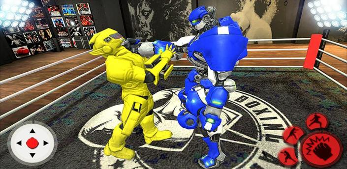 Robot Ring Fighting Battle: Real Robot Champion 3D apk