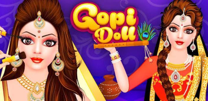 Gopi Doll Fashion Salon - Dress Up Game apk