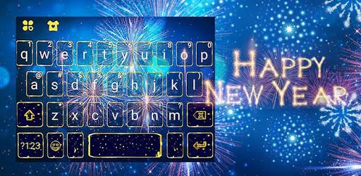 New Year Firework 2020 Keyboard Theme apk
