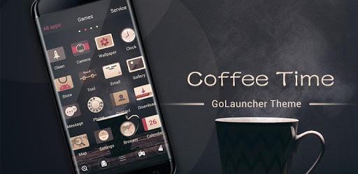 (FREE) Coffee Time GO Launcher Theme apk