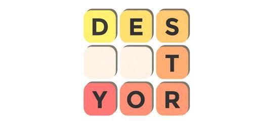 Destroy Letters - The Word Scramble Hunt apk
