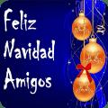 Feliz Navidad a Todos Amigos del Mundo Icon