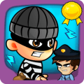Bob cops and robber games free Icon
