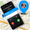 Mobile Number Location - Phone Call Locator Icon