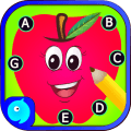 Dot to dot Game - Connect the dots ABC Kids Games Icon