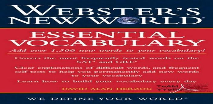 Webster's New World Essential Vocabulary for SAT and GRE apk