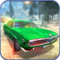 Offroad Classic American Muscle Cars Driving Icon