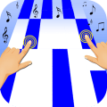 Piano Tile : Blue Music Game Icon