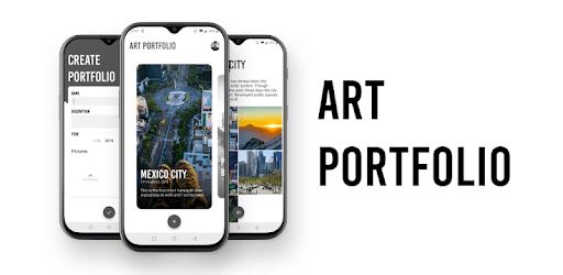 Art Portfolio: Create and download your portfolios apk