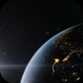 4K Space view of Earth Video Live Wallpaper Icon