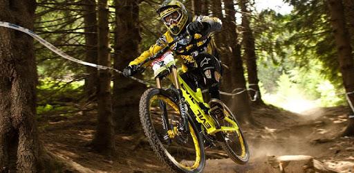 Downhill Mountain Bike Wallpaper apk