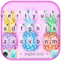 Colorful Pineapples Keyboard Theme Icon