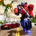 Dragon Transform Multi Robot Transform Icon