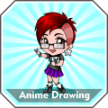 How to Draw Anime Drawing Tutorials Step by Step Offline Icon