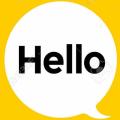Hi Hello GIF Icon