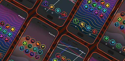 Lux Dark - iOS Inspired Icon Pack apk
