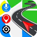 Gps Navigation: Road Maps Driving & Directions Icon