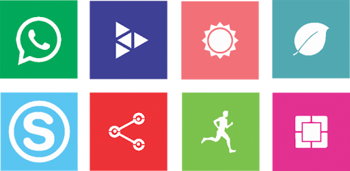 Win10 Flat - Icon Pack apk
