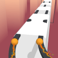 Sky Roller Skating - Rolling Balls Icon