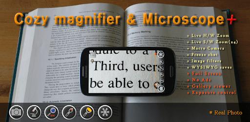Magnifier & Microscope+ [Cozy] apk