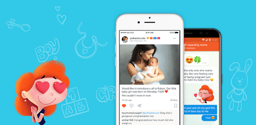 Mom.life — pregnancy tracker and chat for moms. apk