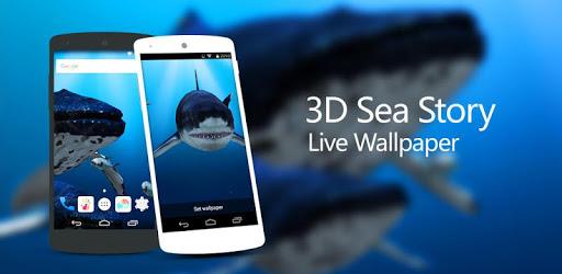 3D Sea Fish Live Wallpaper HD apk