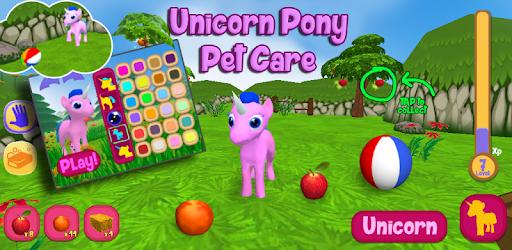 Unicorn Pony Pet Care apk