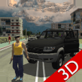 Real City Russian Car Driver Icon