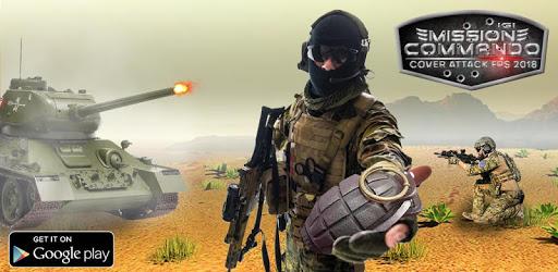Mission IGI Commando Free FPS Shooting Games apk