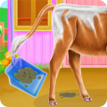 Baby Cow Day Care Icon