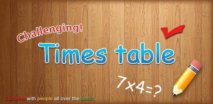 Challenging Timestable apk