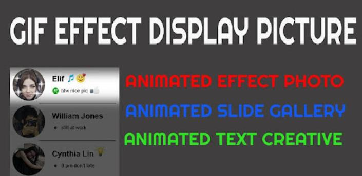 Gif Effect Display Picture apk