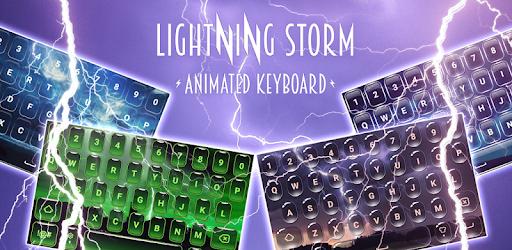 Lightning Keyboard Live Storm apk