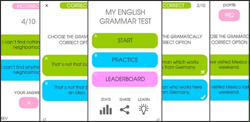 My English Grammar Test PRO apk