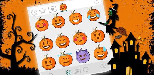 Scary Halloween Emoji Stickers apk