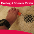 How To Unclog A Shower Drain Icon