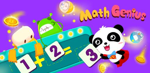 Little Panda Math Genius - Education Game For Kids apk