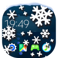 Snow on Screen Winter Effect Icon
