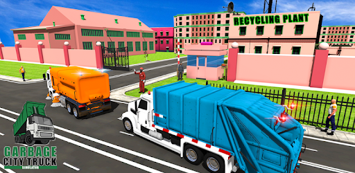 Garbage Truck 2019:  City Trash Driving Games apk