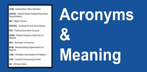 Acronyms and Meaning apk