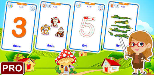 123 Numbers Flashcards PRO (Learn English Faster) apk