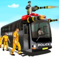 Shooting Police poisoner Gun Bus Driving Simulator Icon