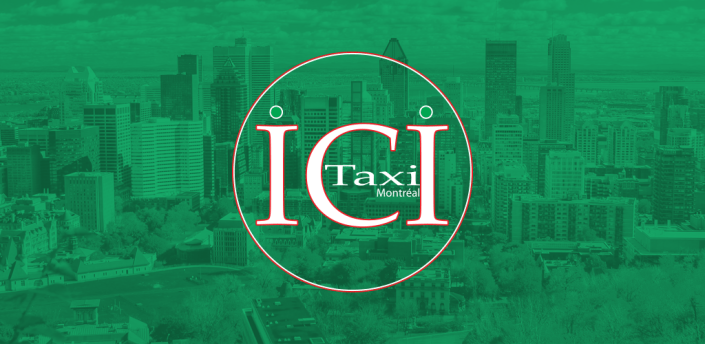 Ici Taxi: cabs in Montreal, Canada. Book a ride apk