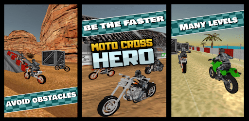 MOTO CROSS HERO - 3D Free Game apk