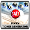 PowerBall Lucky Ticket Generator Icon