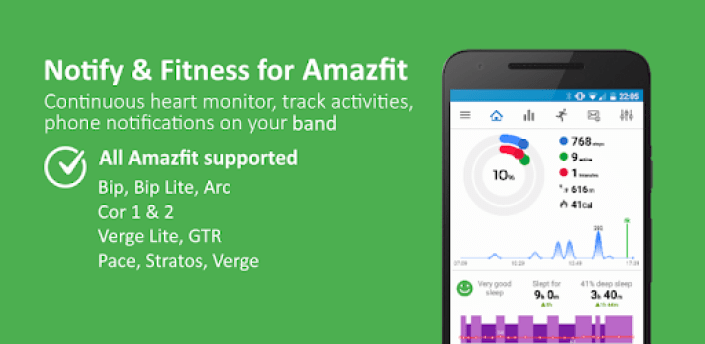 Notify & Fitness for Amazfit apk