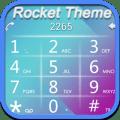 RocketDial BlueWhite Theme Icon