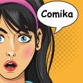 comics and cartoon maker Icon